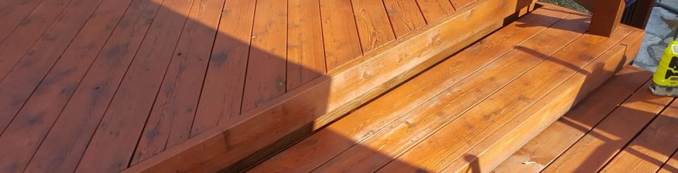 Seeking to have a wood deck installed? We're the guys for the job!